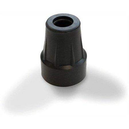 Kruk Dop Zwart voor Elleboogkruk(ken)