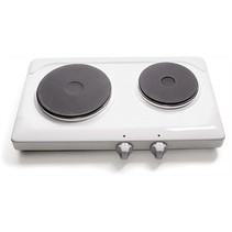 Elektrische Kookplaat Dubbel (met timer)