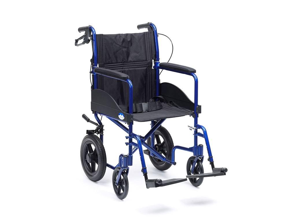 Duwwagen transport rolstoel