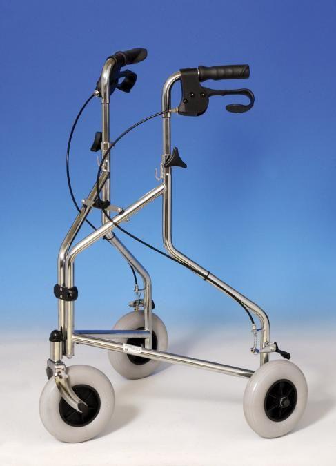 3-wiel binnenhuis rollator