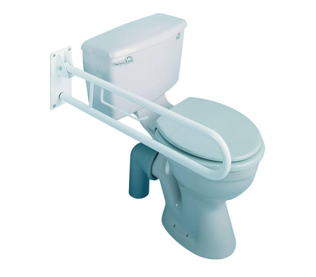 Toiletbeugel opklapbaar