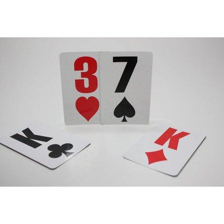 Low Vision design Speelkaarten Mega Symbolen (2 sets)