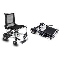 Unieke opvouwbare elektrische rolstoel Zinger zwart