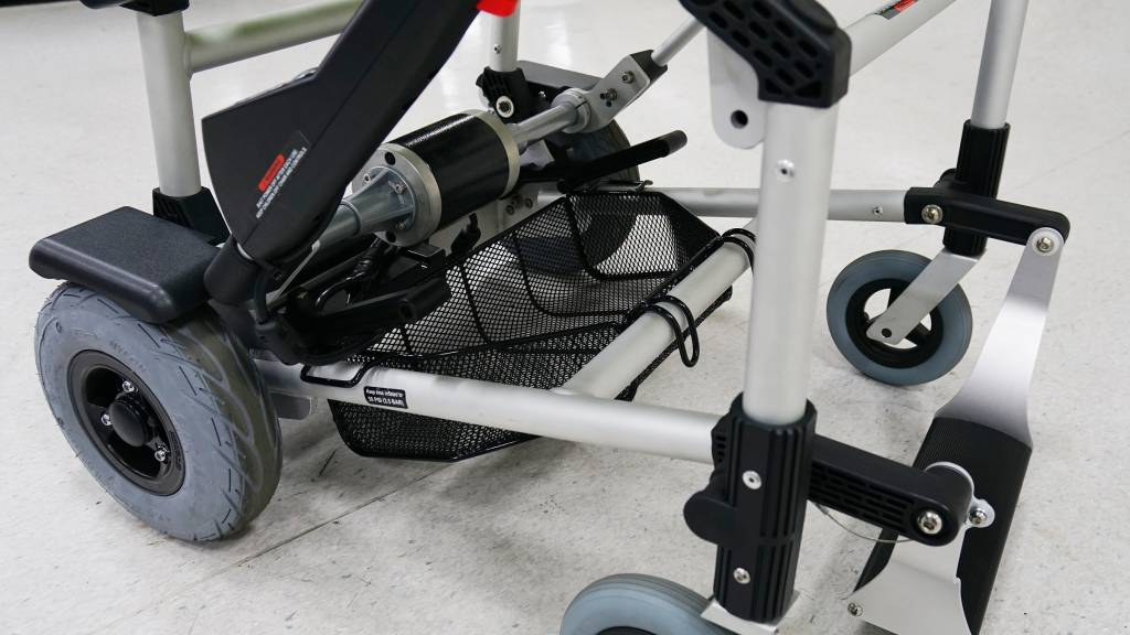 Mandje voor de zinger rolstoel