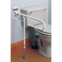 Toiletbeugel met Poot (opklapbaar)