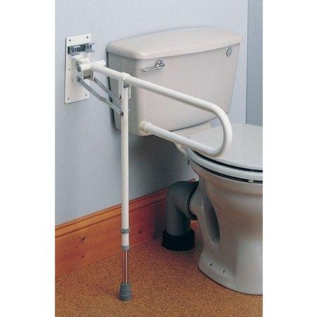 Homecraft Toiletbeugel met Poot (opklapbaar)