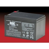 Opvouwbare Scootmobiel Accu - Batterij 12 Volt 12Ah
