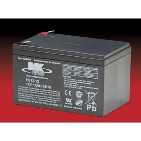 MK Opvouwbare Scootmobiel Accu - Batterij 12 Volt 12Ah