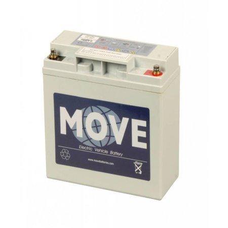 Move Opvouwbare Scootmobiel Accu - Batterij 12V 20Ah