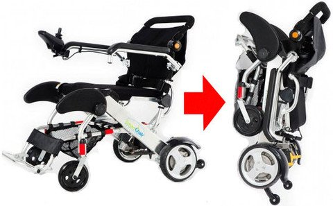 Smart chair elektrische rolstoel opvouwbaar