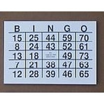 A5 Grootletter Bingo Kaarten