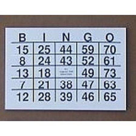 TZ A5 Grootletter Bingo Kaarten