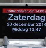 Dayclock Digitale Kalenderklok Op Afstand Te Beheren