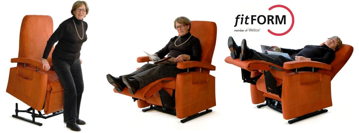 sta opstoel fitform vario 570 3 motorige sta op relax stoel thuiszorgwinkel totale zorgwinkel. Black Bedroom Furniture Sets. Home Design Ideas
