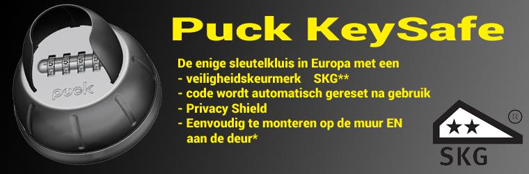 Puck sleutelkluis met SKG Politie Keurmerk
