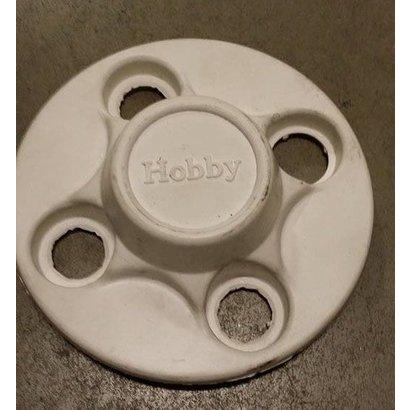 Hobby Afdekking velg - 4 gaats - wit