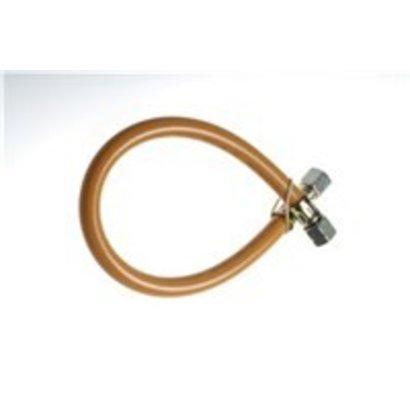 GIMEG gasslang PVC 1/4 inch links X 6/8 40cm