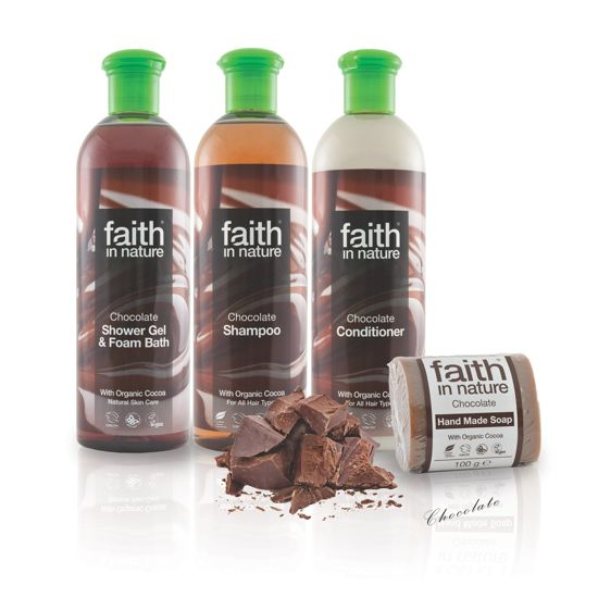 Faith in Nature Chocolate Bath & Shower Gel