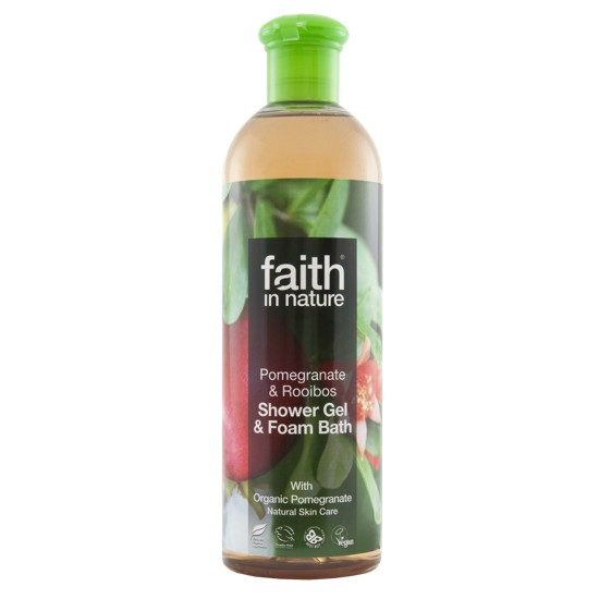 Faith in Nature Pomegranate & Rooibos Bath & Shower Gel