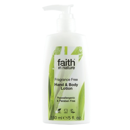 Faith in Nature Fragrance Free Hand & Body Lotion