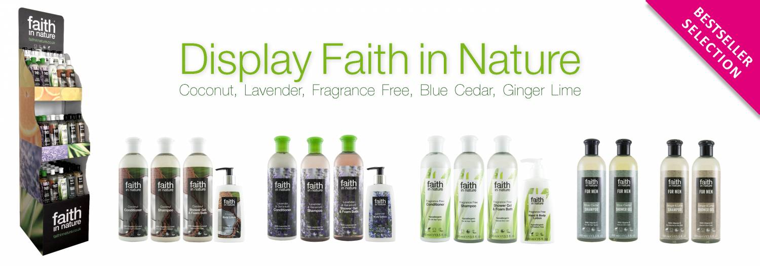 Faith in Nature Display