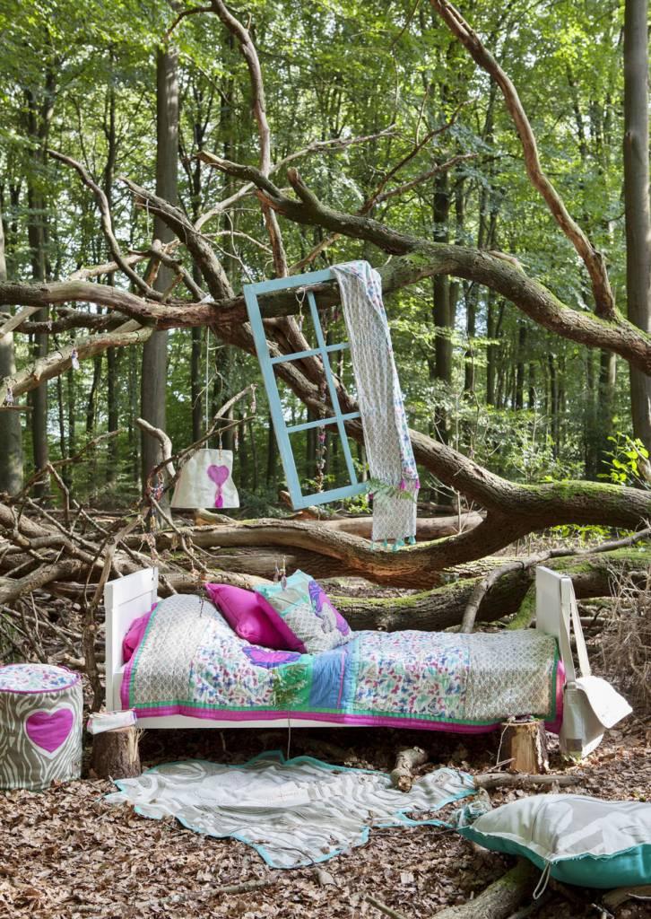 Colorique Into the Woods dieren kleed canvas