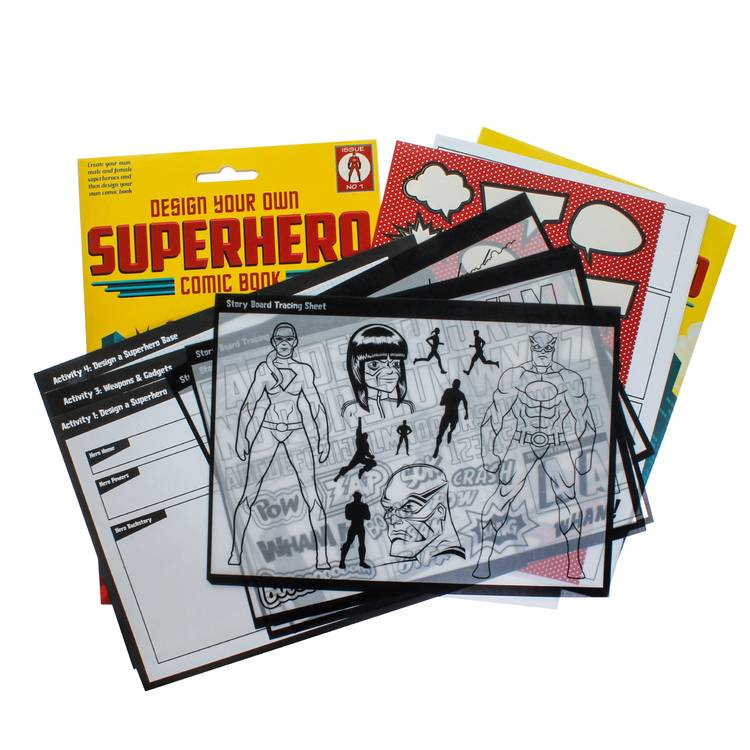 Clockwork Soldier Ontwerp je eigen stripboek