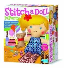 4M Stitch a doll; go party