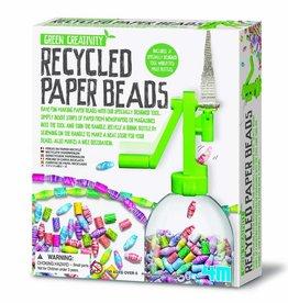 4M Kralen maken met gerecycled papier