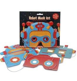 Clockwork Soldier Maak je eigen robot masker