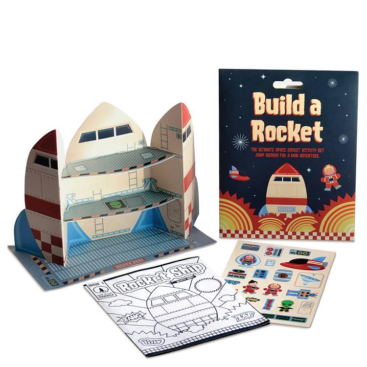 Clockwork Soldier Bouw een raket