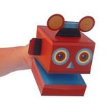 Clockwork Soldier Maak je eigen robot handpop