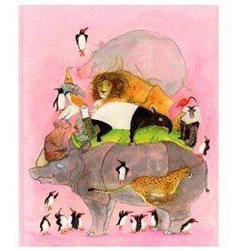 Springende pinguïns en lachende hyena's