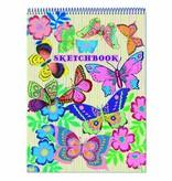 eeBoo Schetsblok - Fluo Butterfly