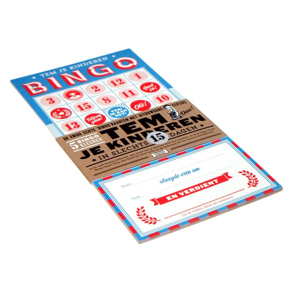 Stratier Bingo beloningskaarten