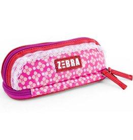 Zebra Trends Etui Pink Flower