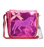 Zebra Trends Kinder flaptasje Pink Horse