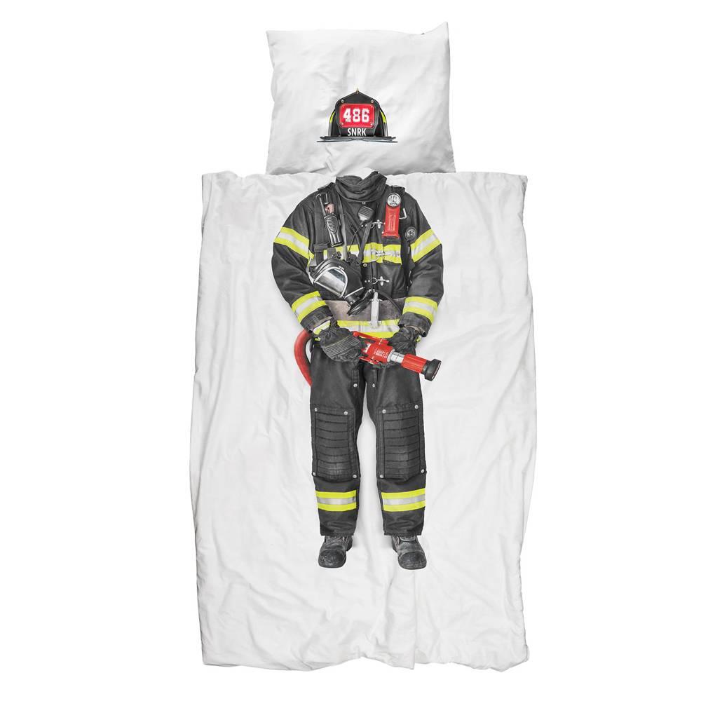 Snurk Brandweerman dekbedovertrek Firefighter
