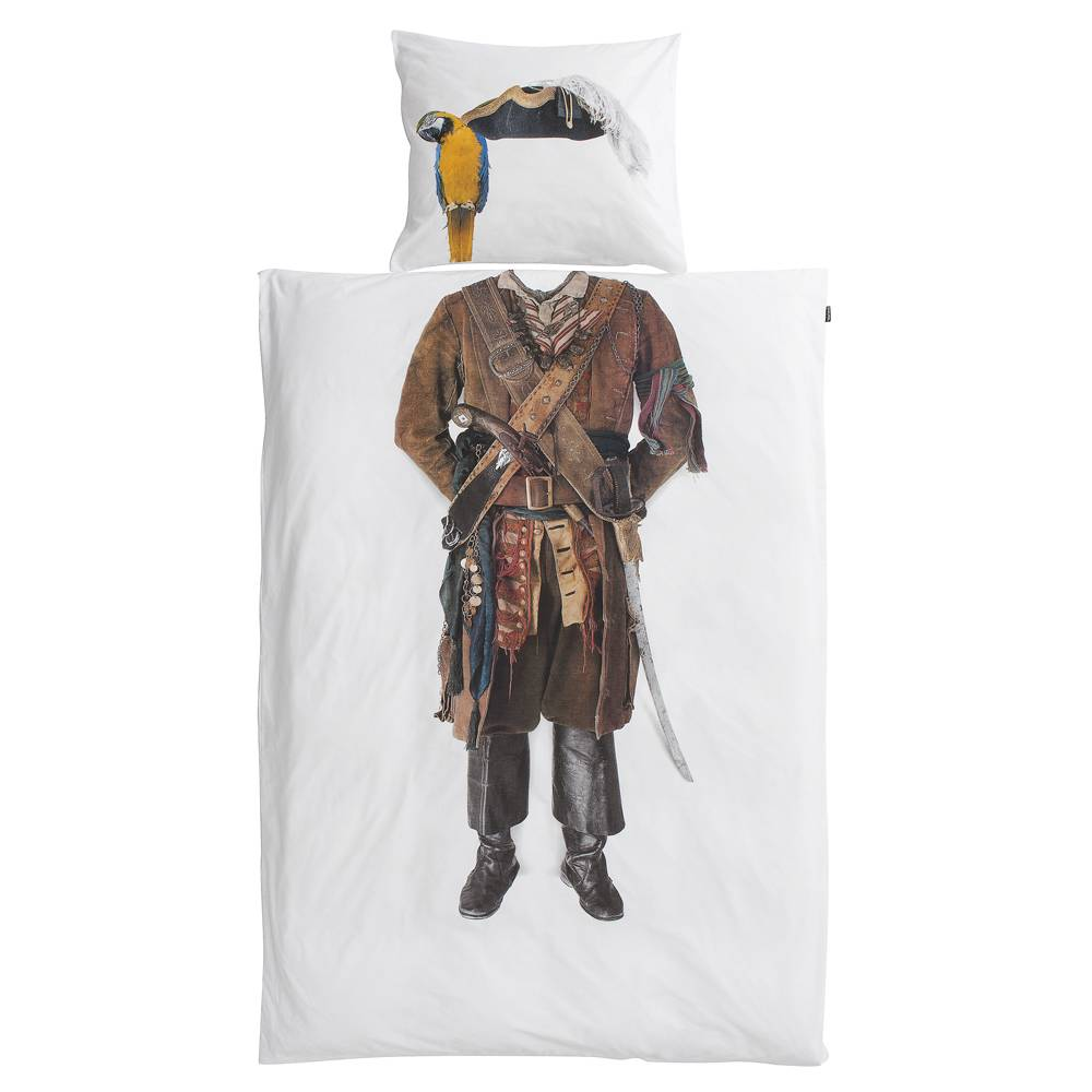 Snurk Piraten dekbedovertrek