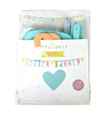 A Little Lovely Company Letterbanner pastel