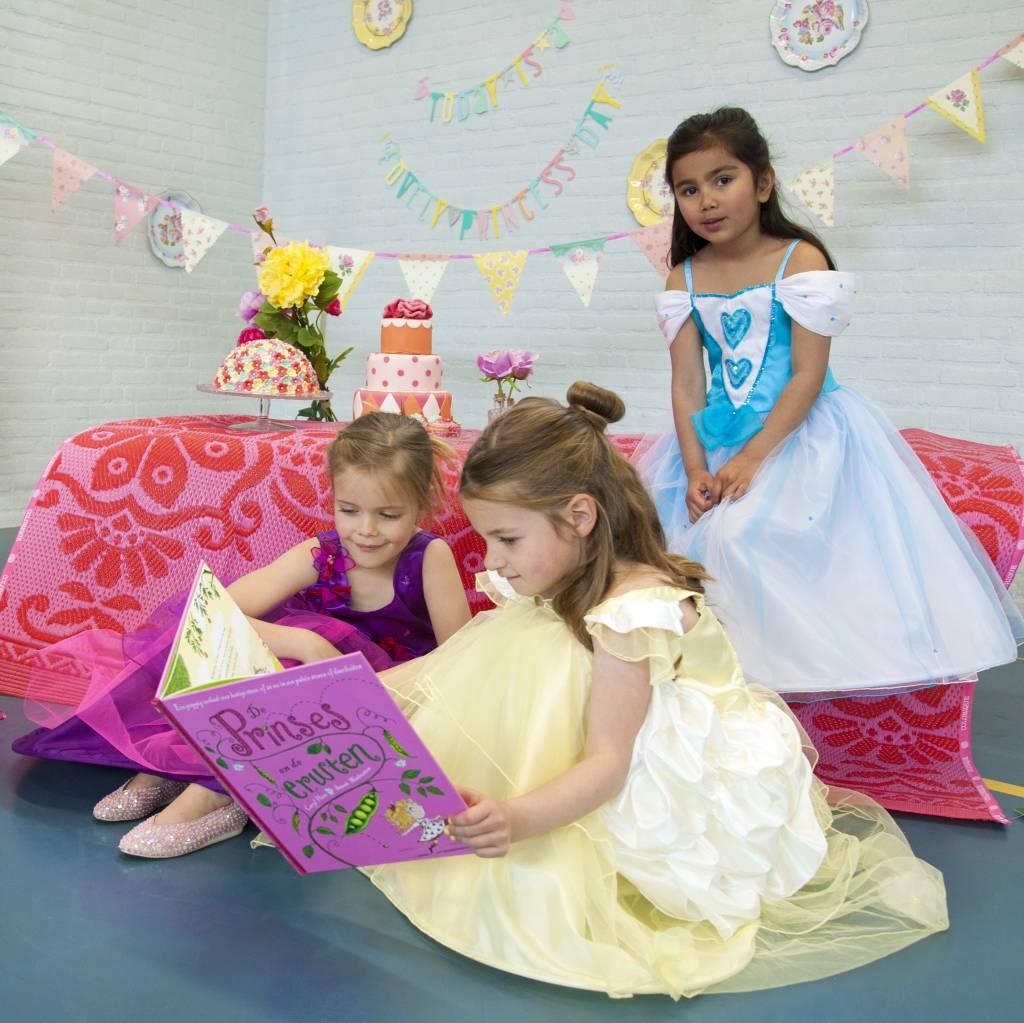 Lucy Locket Prinsessenjurk Belle geel