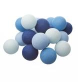 Cotton Ball Lights Aqua Cotton Ball Lights lichtslinger