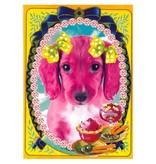 De Kunstboer Wenskaart Doggie