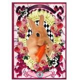 De Kunstboer Wenskaart Rabbit