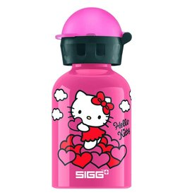 Sigg Drinkfles Hello Kitty hartjes (0,3 L)