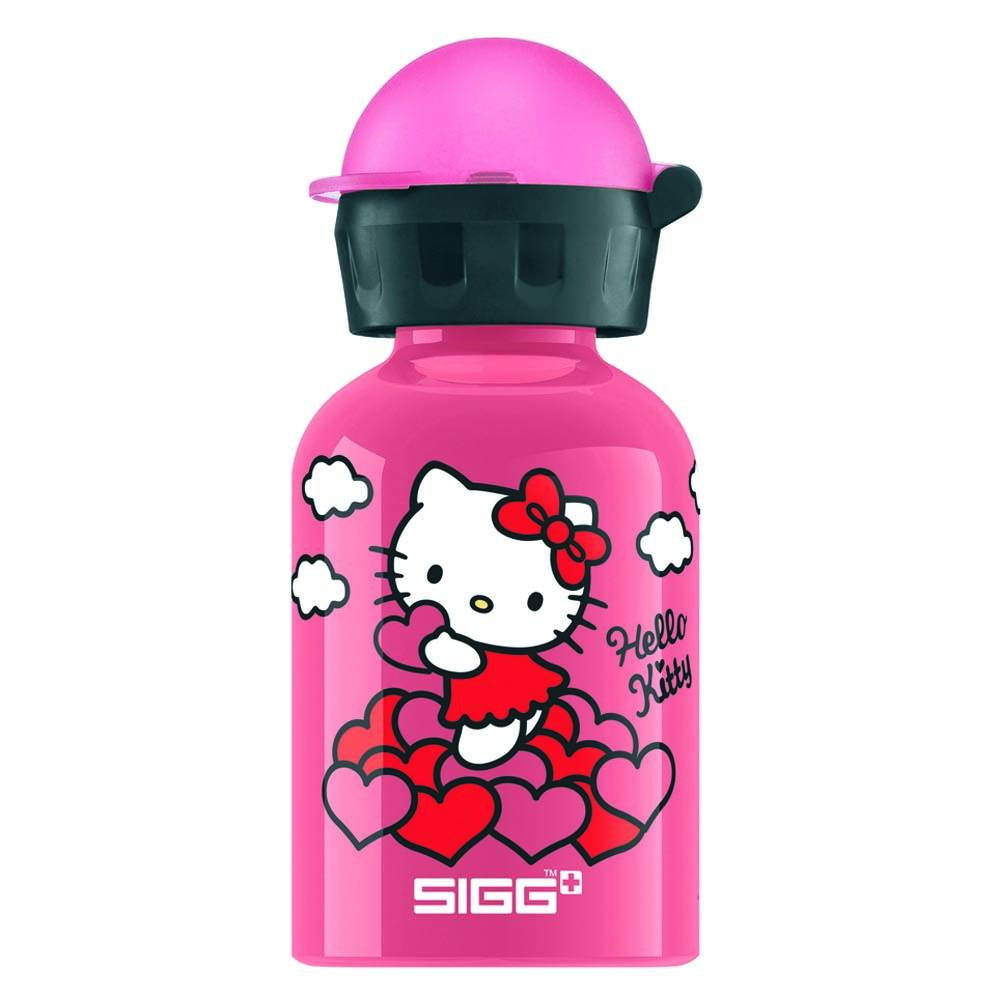 Sigg Drinkfles Hello Kitty hartjes (0,3 L)