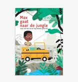 Makii XXL turbo kleurplaat 'Jungle'