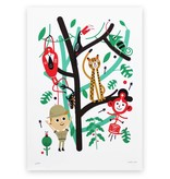 Makii Art Print Jungle