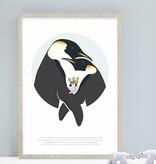norsuStories Poster Pinguïn & verhaaltje