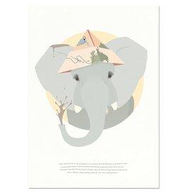 norsuStories Poster Olifant & verhaaltje